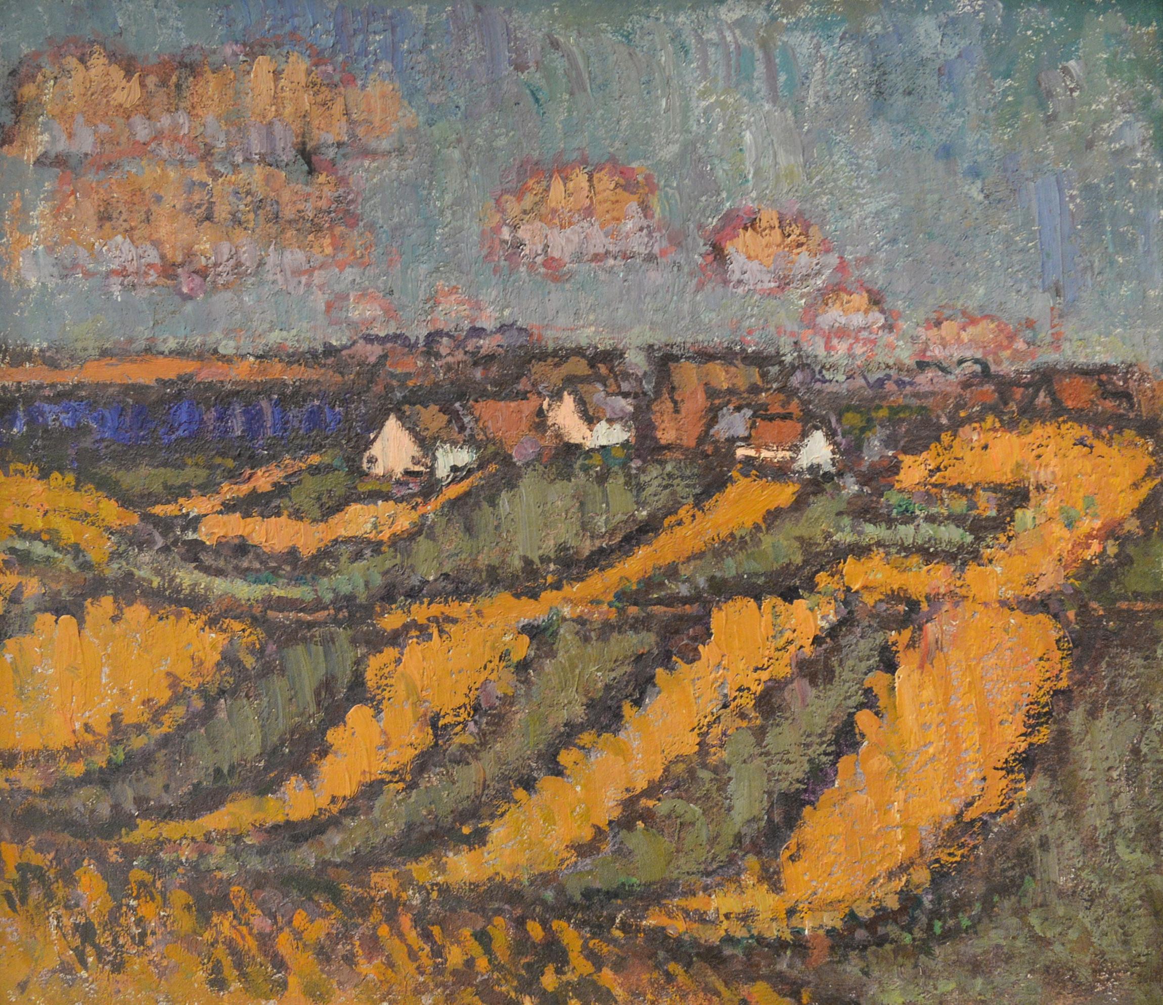 Otto Manigk, Handtuchfelder, 1937-38