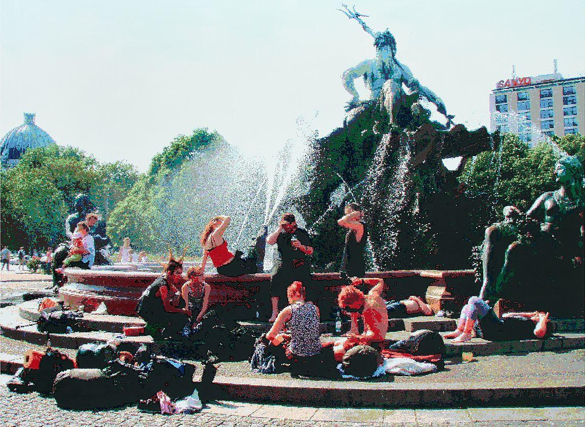 Römer & Römer, Neptunbrunnen, © Römer & Römer