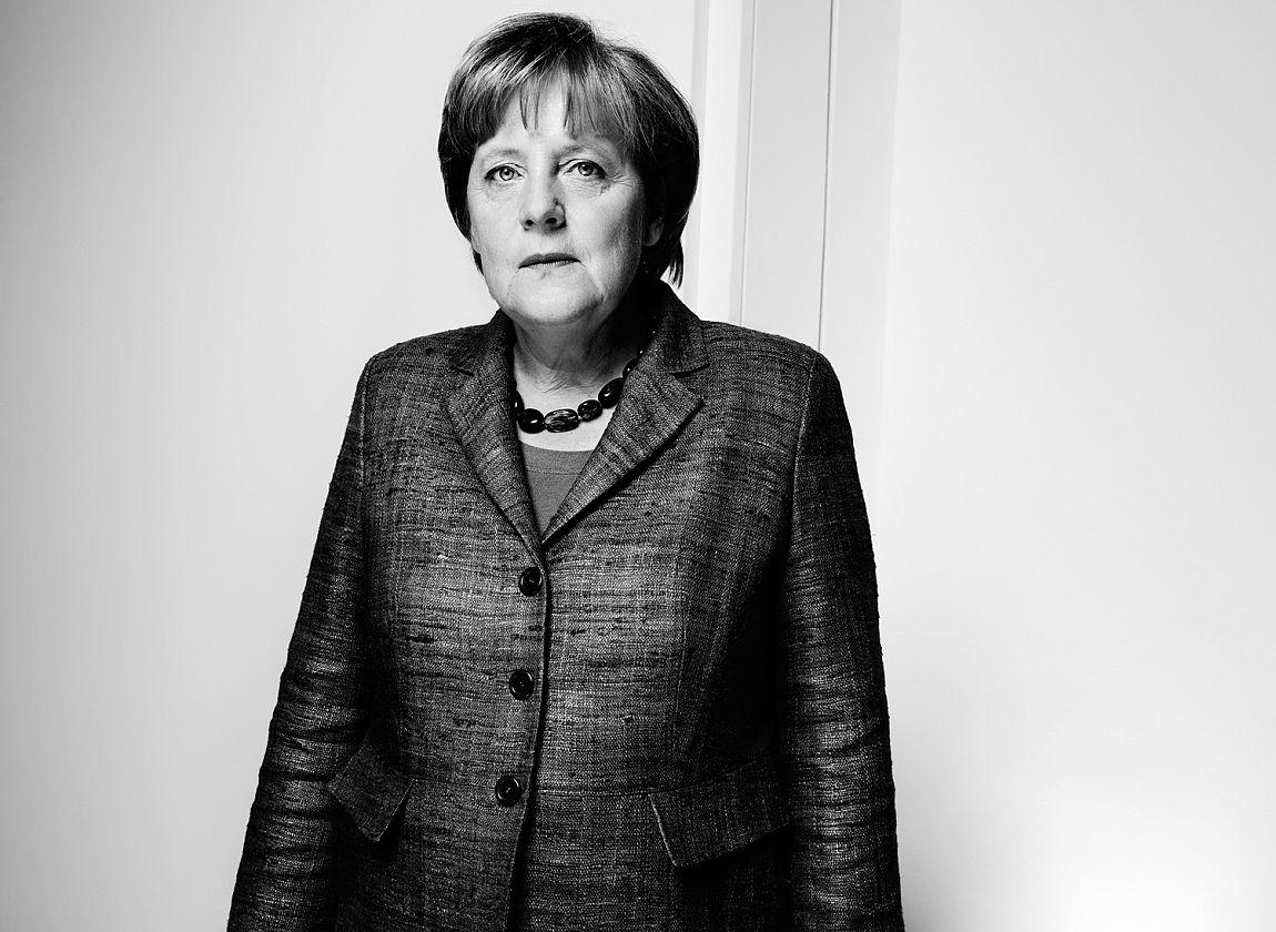 © Anatol Kotte, Angela Merkel (Ausschnitt)