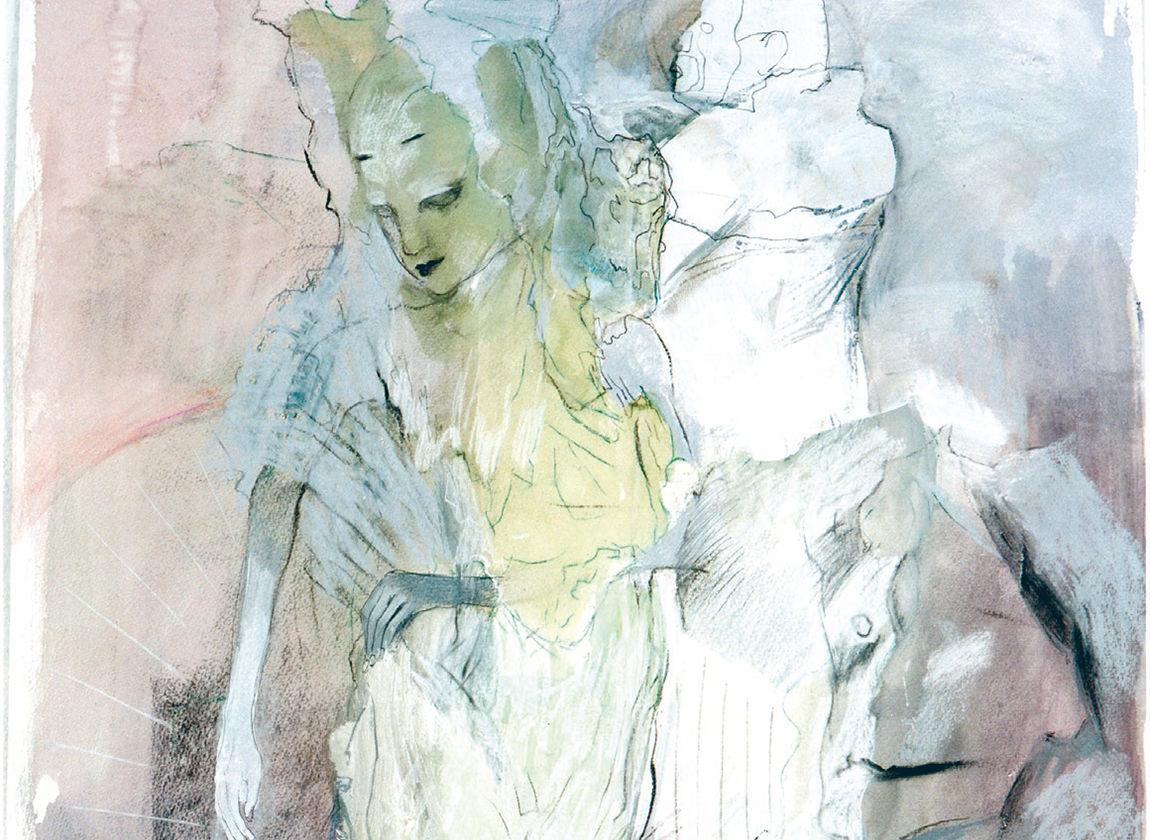 Inge Jastram, Kostümprobe (Ausschnitt), Foto © Robert Dämmig