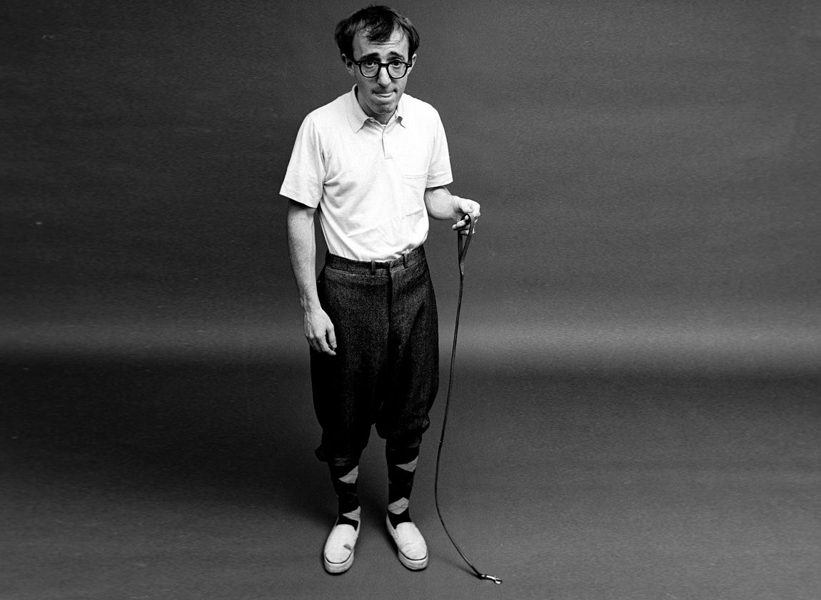 ©Steve Schapiro, Woody Allen and Ant