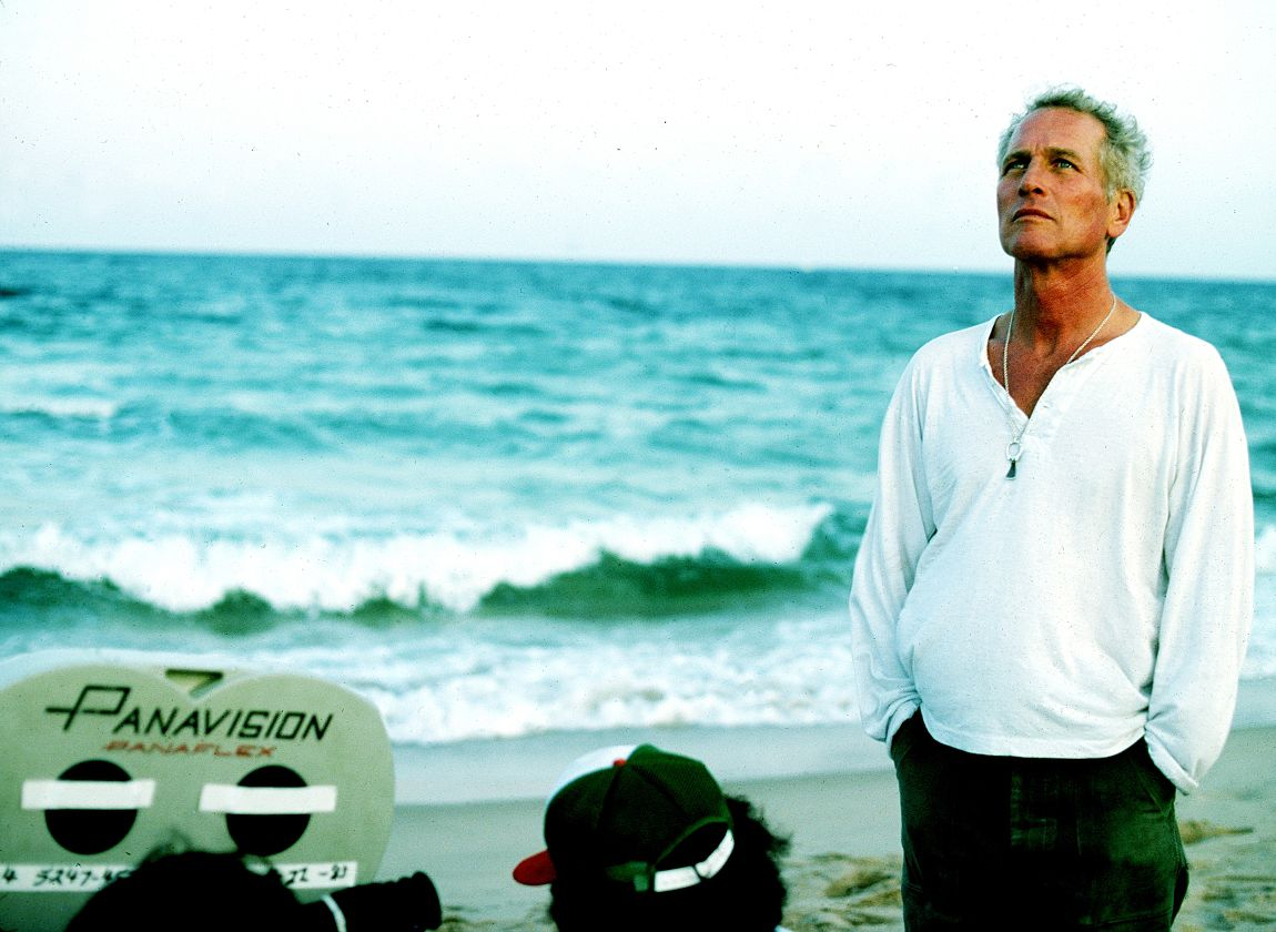 ©Steve Schapiro, Paul Newman - beach sky (Hero)