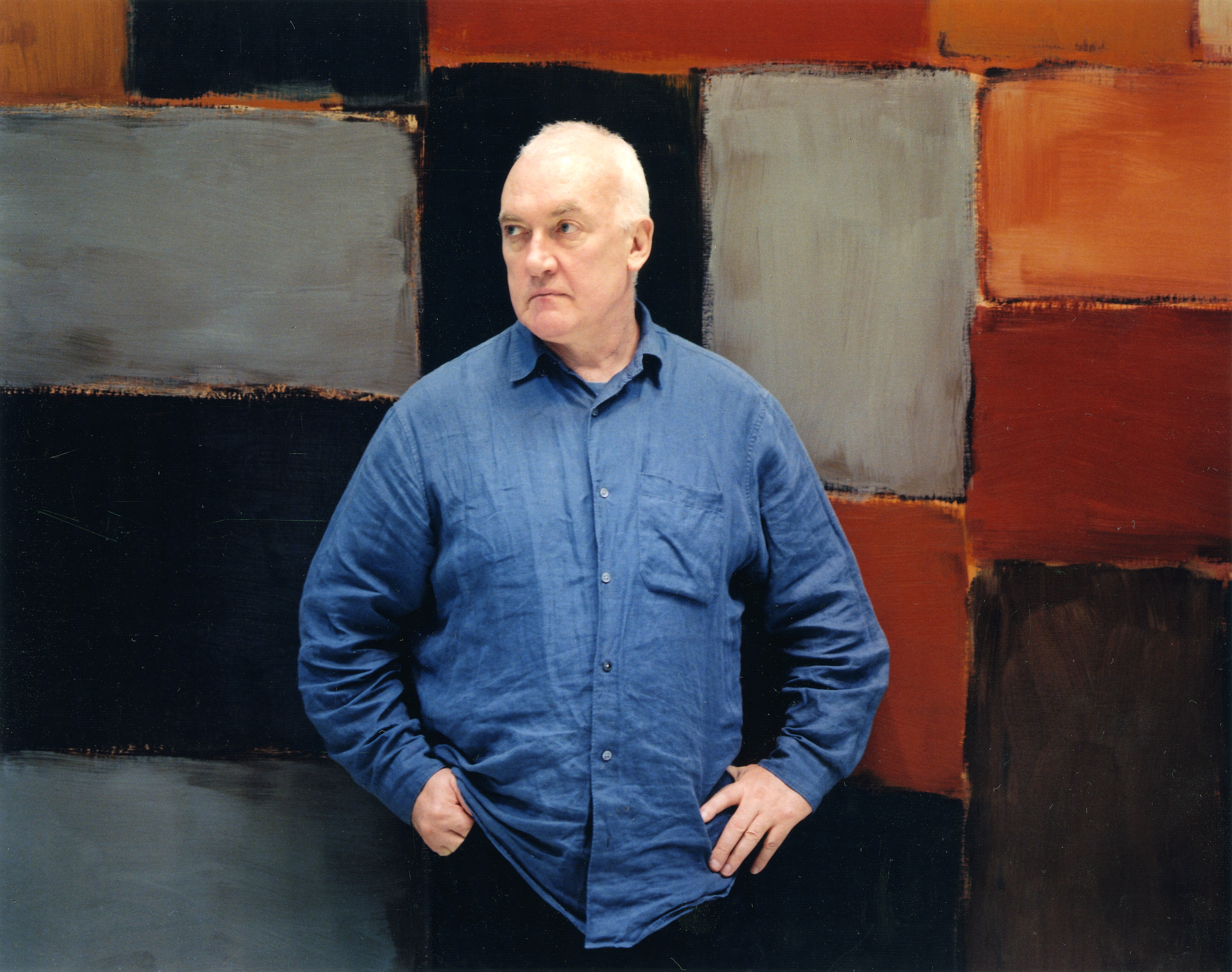 Sean Scully, Selfportrait, © Sean Scully