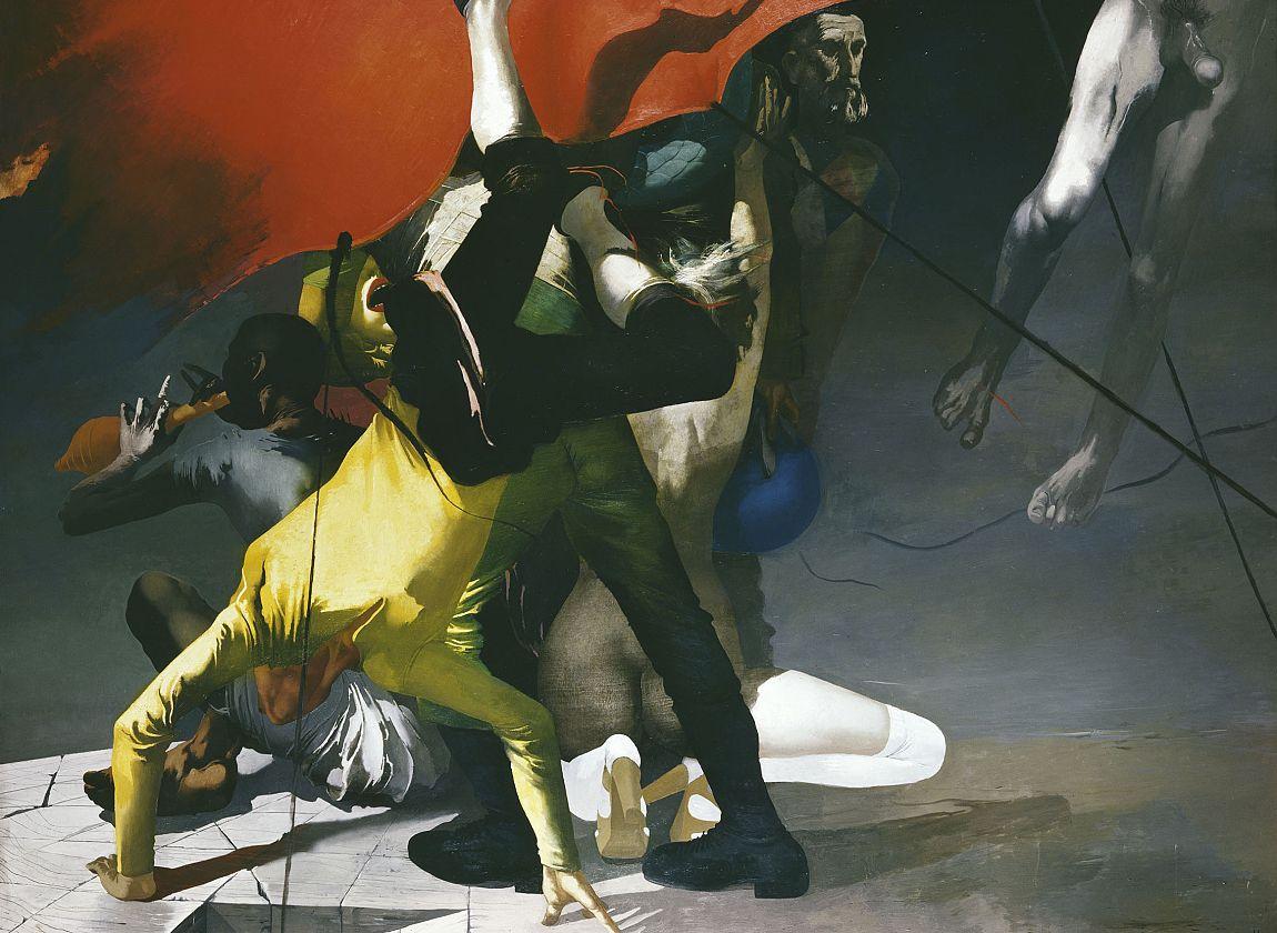 Arno Rink, Nacht der Gaukler, © Galerie Schwind