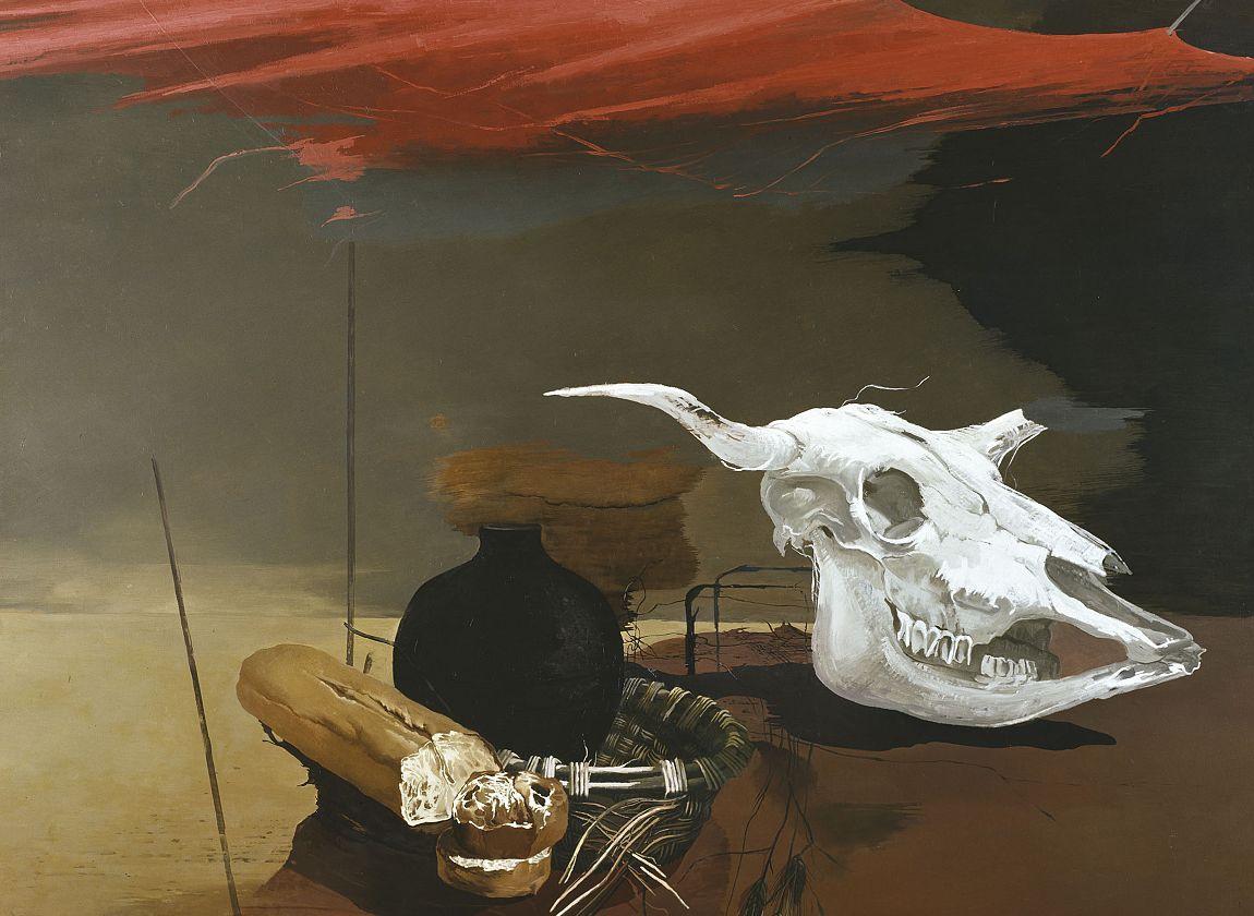 Arno Rink, Spanisches Stilleben, © Galerie Schwind