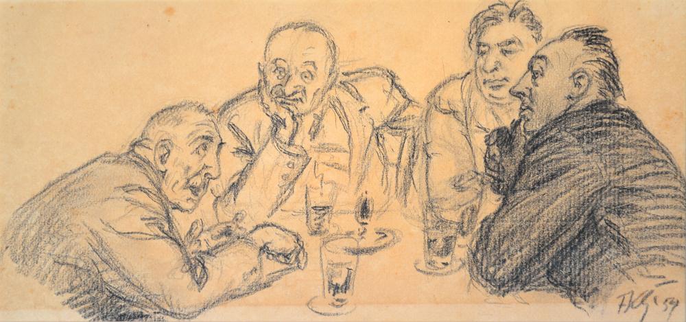 Fritz Koch-Gotha, Grafik aus der Sammlung der Kunsthalle Rostock