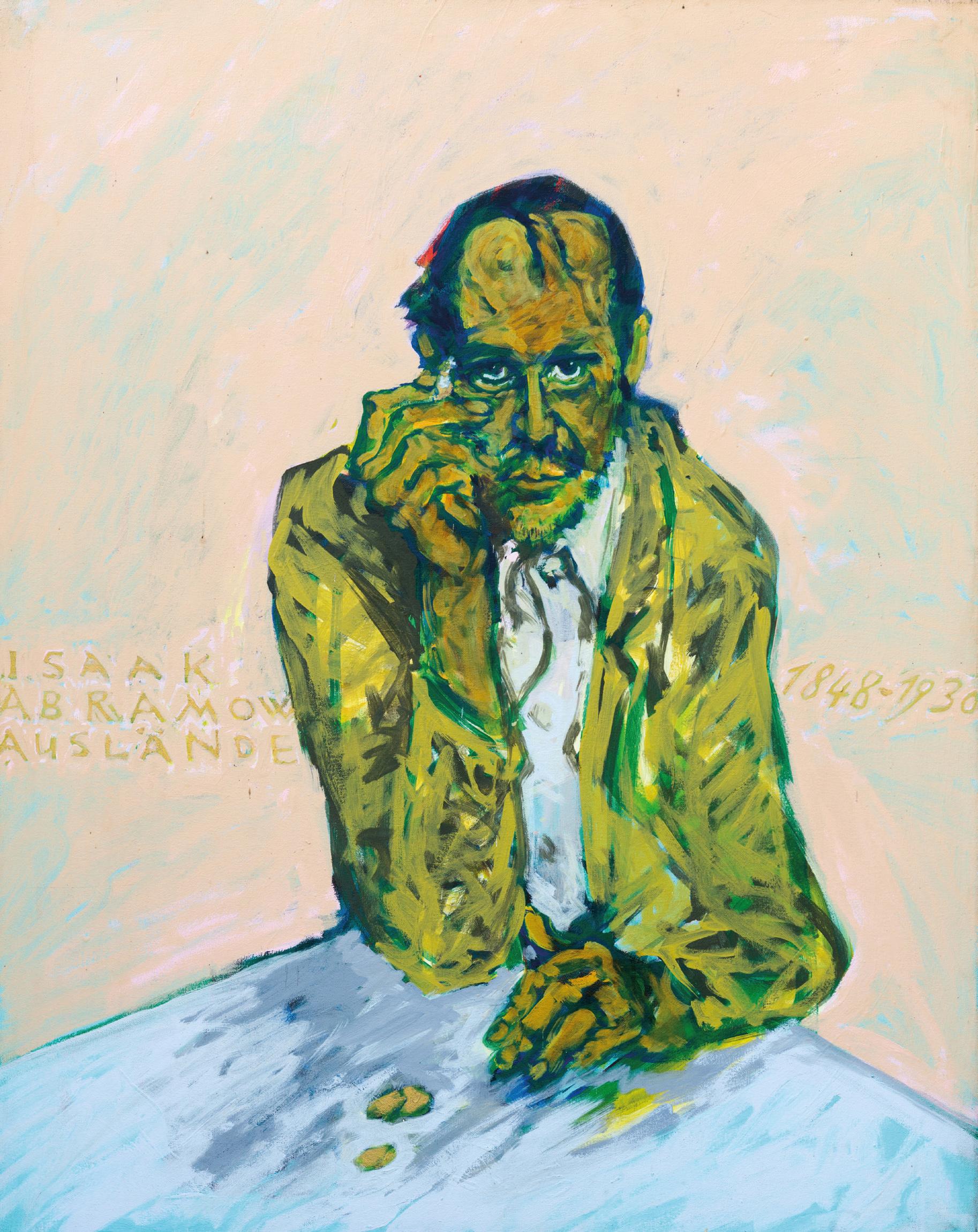 Isaak Abramow Auslaender, Die Ahnen, ©Nil Auslaender