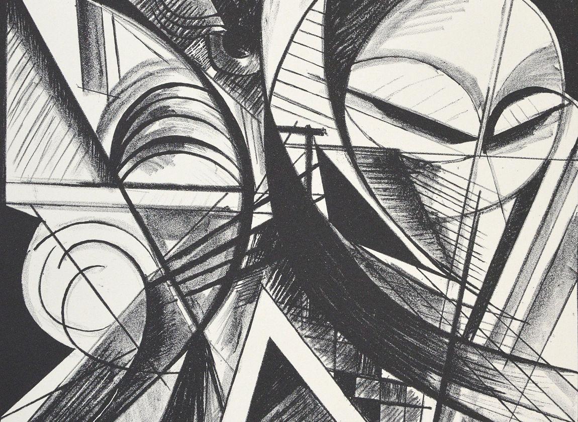 Variation VIII, 1988, Sammlung der Kunsthalle Rostock (Ausschnitt)