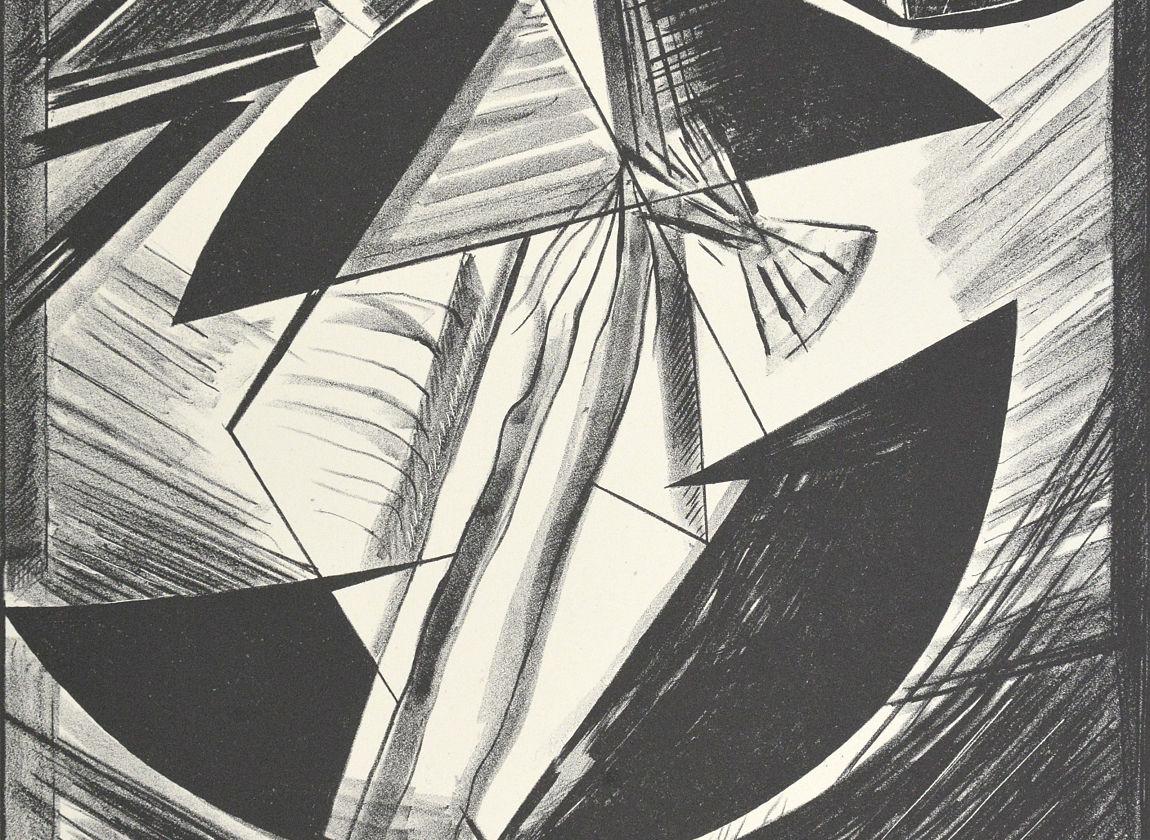 Variation V, 1988, Sammlung der Kunsthalle Rostock (Ausschnitt)