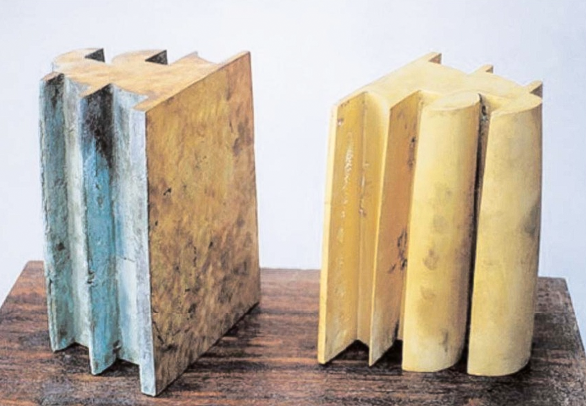 Leonid Baranov Books 1995 Bronze je 25 x 18 x 15 cm © Leonid Baranov