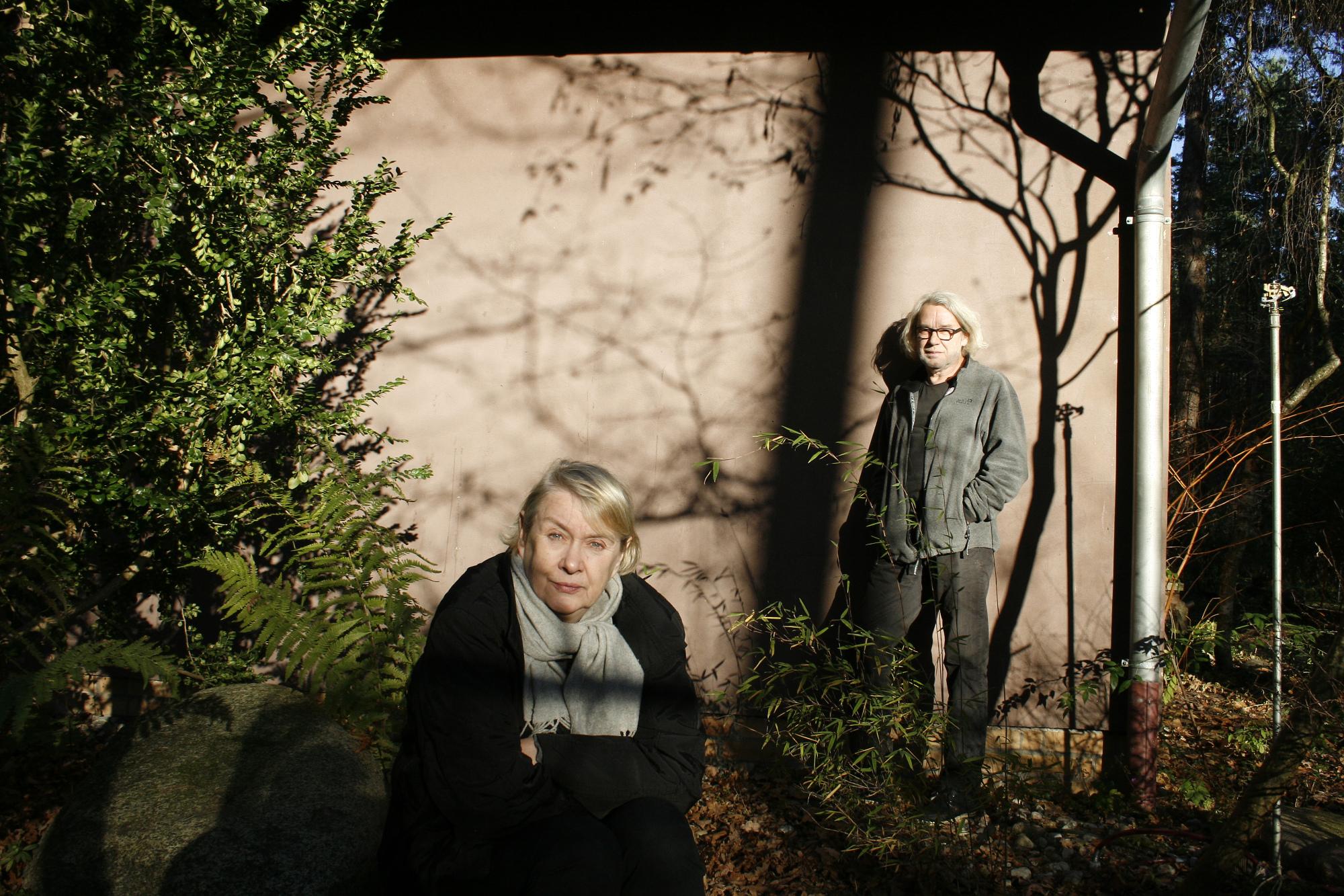 Ute Mahler und Werner Mahler Lehnitz, November 2013 © Ingo Taubhorn