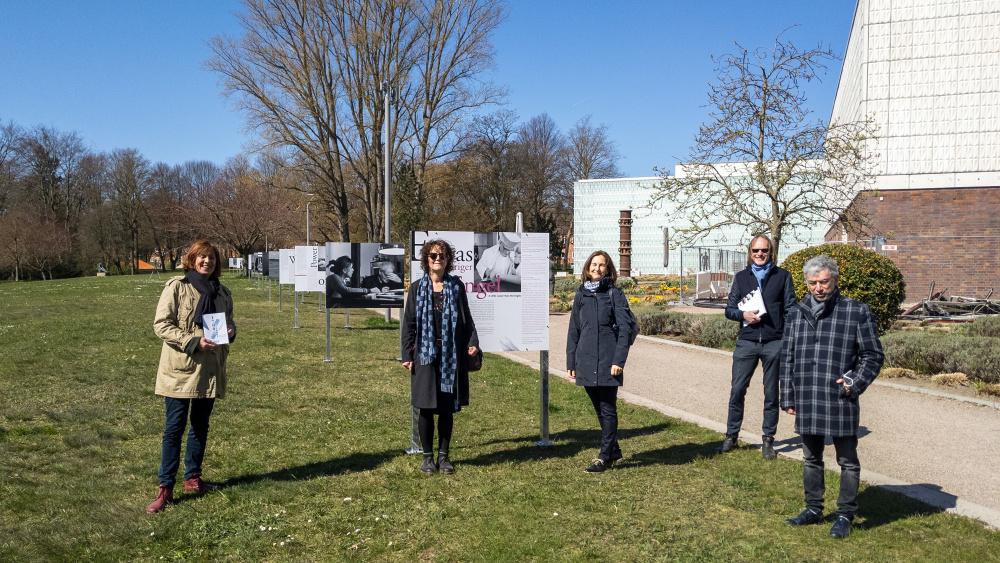 Fotos von der Outdoor-Ausstellung